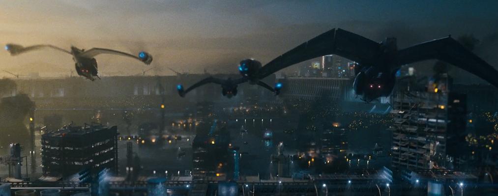 I 2144 kan bilene selvsagt fly (Foto: Netflix/Cloud Atlas)